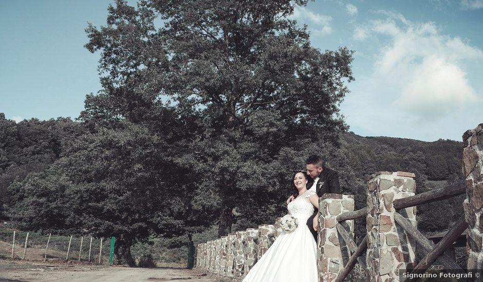 Il matrimonio di Learco e Anca a Longi, Messina