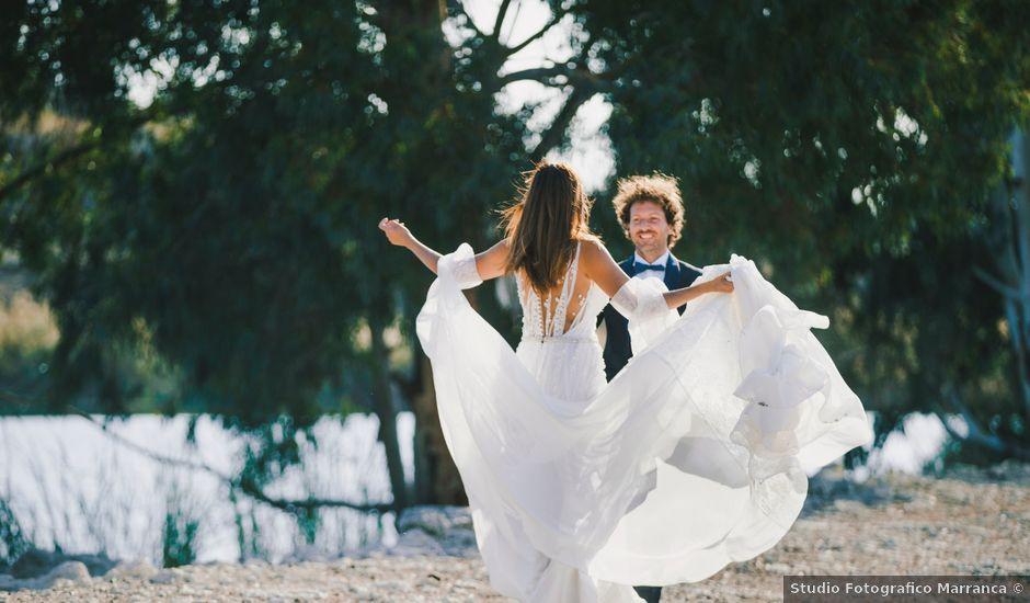 Il matrimonio di Gianluigi e Clara a Favara, Agrigento