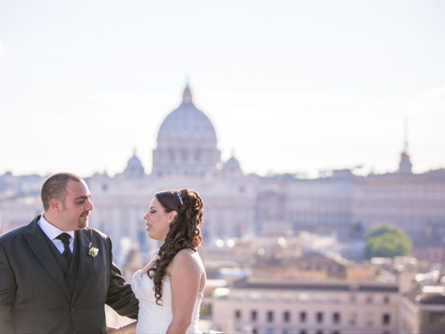 Il matrimonio di Barbara e Francesco a Roma, Roma 49