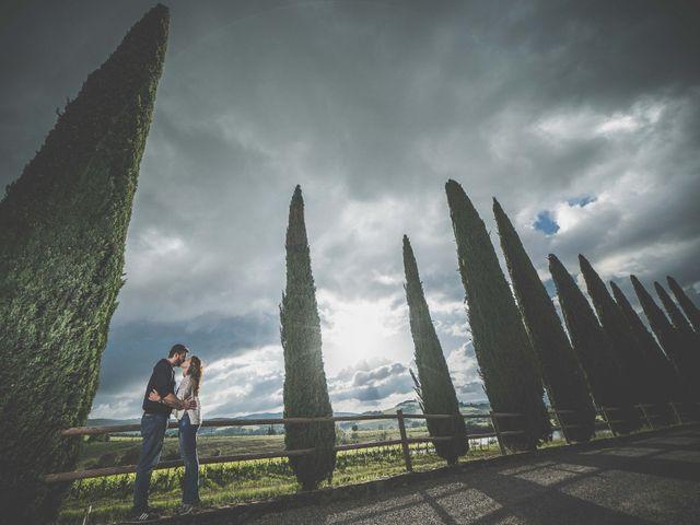 Il matrimonio di Sergio e Maria a Montepulciano, Siena 2