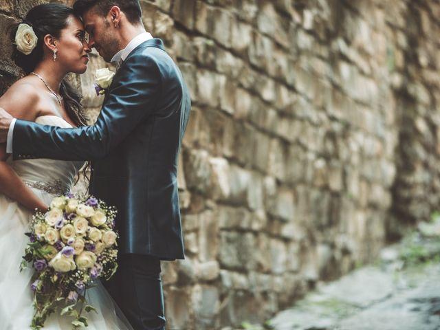 Le nozze di Vanesa e Nathan