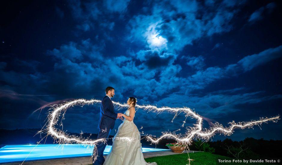 Il matrimonio di Sergio e Maria a Montepulciano, Siena