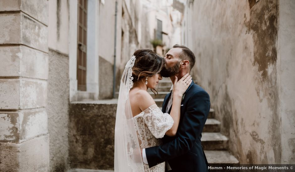 Il matrimonio di Roberta e Vincenzo a Ragusa, Ragusa