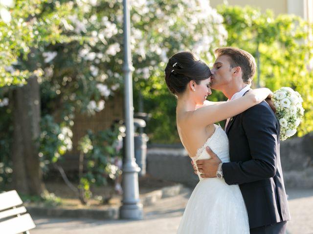 le nozze di Melania e Sal