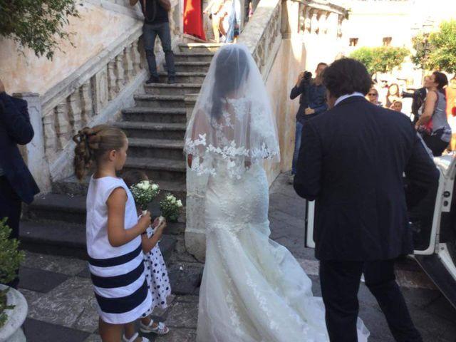 Il matrimonio di Luigi e Noemi a Taormina, Messina 5