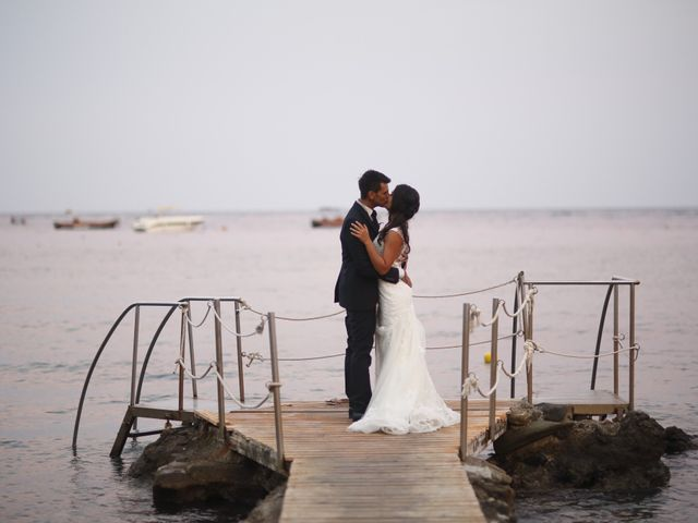 Il matrimonio di Luigi e Noemi a Taormina, Messina 20