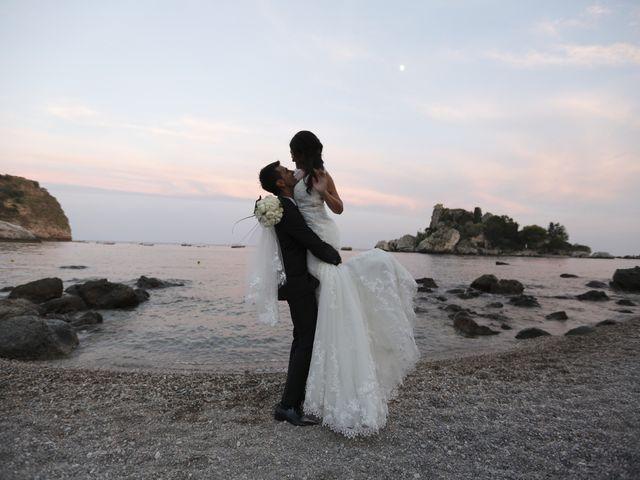 Il matrimonio di Luigi e Noemi a Taormina, Messina 21