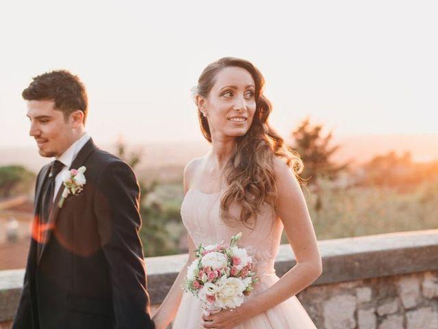 Il matrimonio di Simone e Teresa a Sermoneta, Latina 14