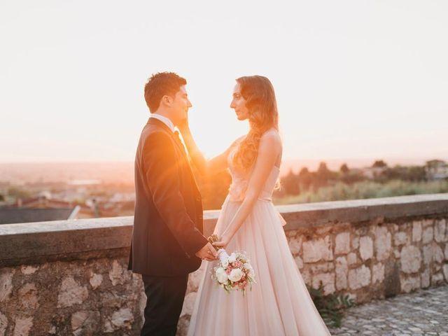Il matrimonio di Simone e Teresa a Sermoneta, Latina 15
