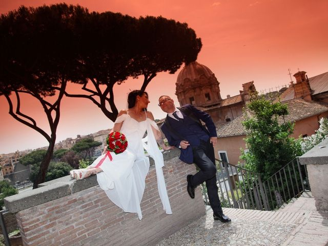 Il matrimonio di Marco e Katia a Roma, Roma 22