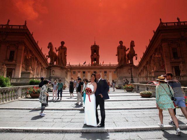 Il matrimonio di Marco e Katia a Roma, Roma 28