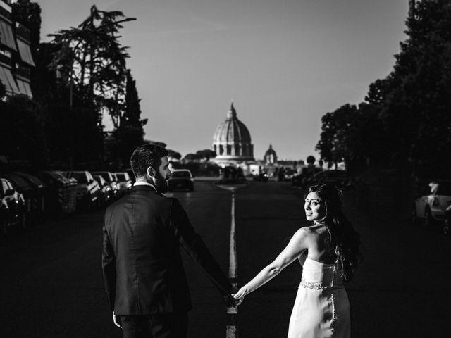 Il matrimonio di Domenico e Giorgia a Roma, Roma 34