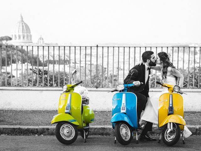 Il matrimonio di Domenico e Giorgia a Roma, Roma 35