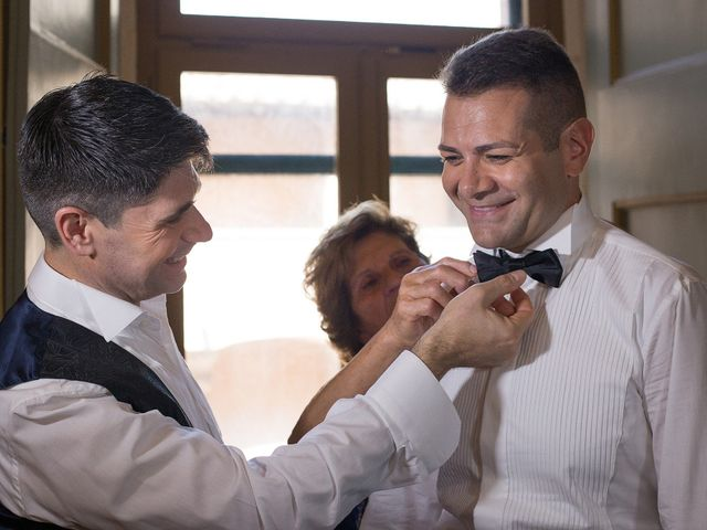 Il matrimonio di Gianluca e Flavio a Fiumicino, Roma 12
