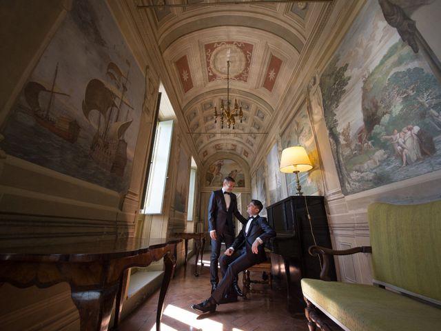 Il matrimonio di Gianluca e Flavio a Fiumicino, Roma 1