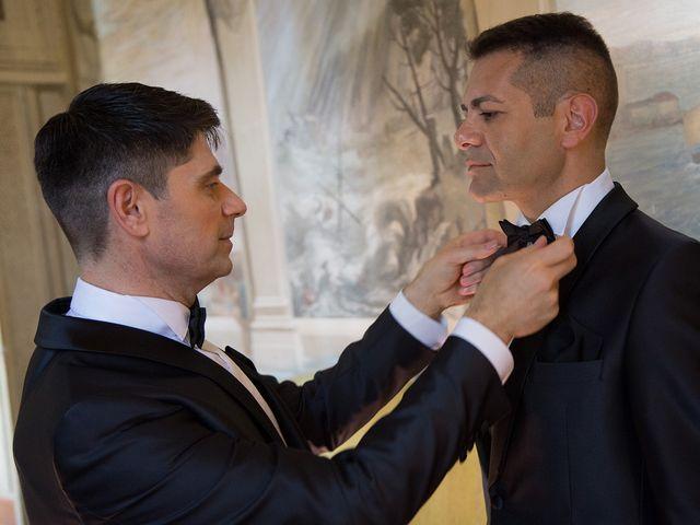 Il matrimonio di Gianluca e Flavio a Fiumicino, Roma 16