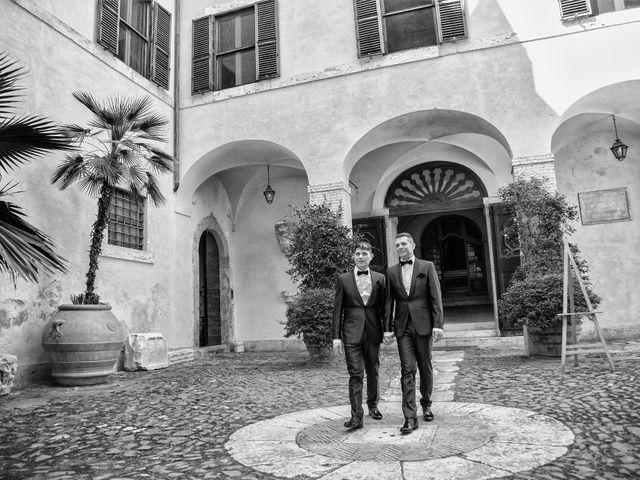 Il matrimonio di Gianluca e Flavio a Fiumicino, Roma 17