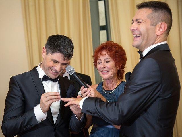 Il matrimonio di Gianluca e Flavio a Fiumicino, Roma 18