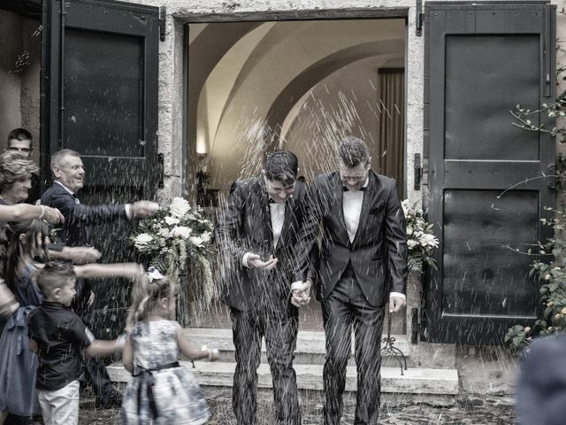 Le nozze di Flavio e Gianluca
