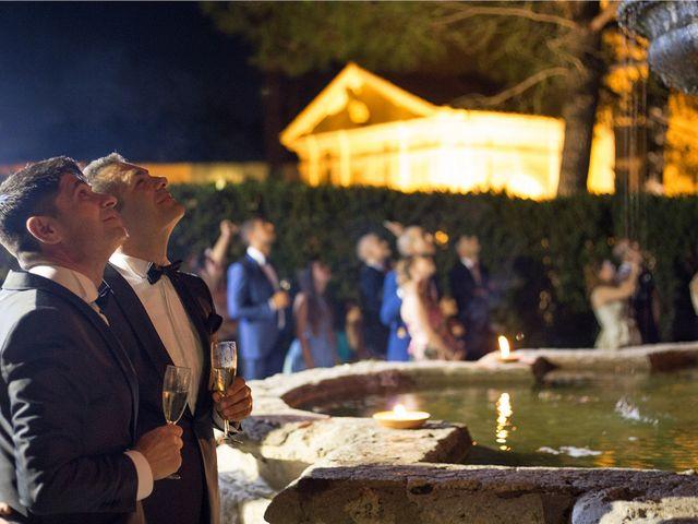 Il matrimonio di Gianluca e Flavio a Fiumicino, Roma 32