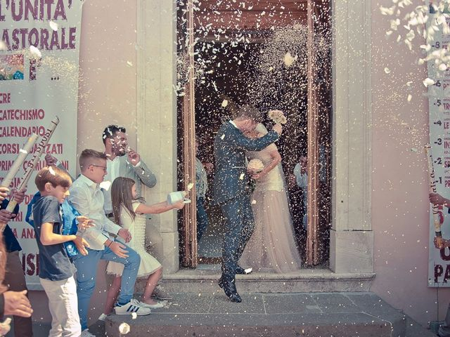 Il matrimonio di Andrea e Deborah a Ponteranica, Bergamo 75