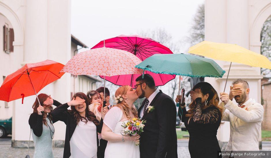 Il matrimonio di Freddy e Michela a Cherasco, Cuneo