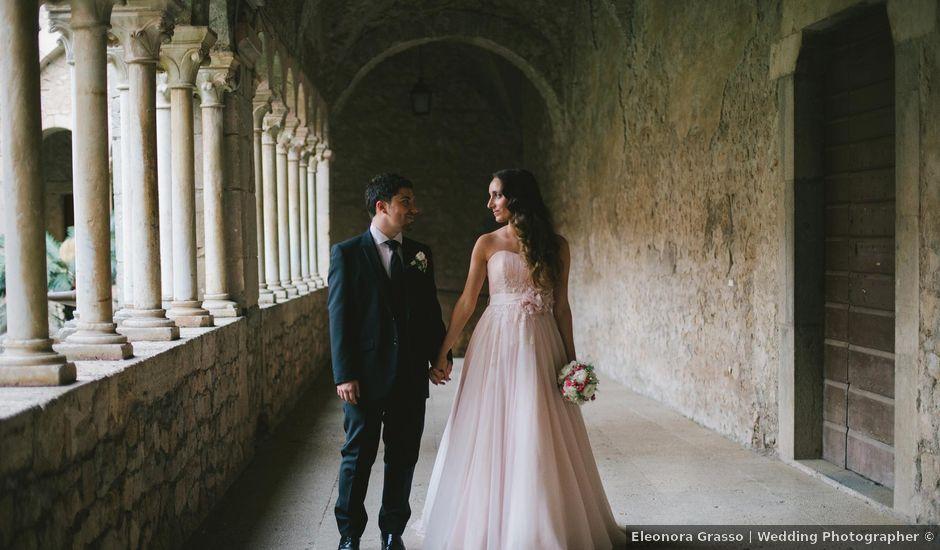 Il matrimonio di Simone e Teresa a Sermoneta, Latina
