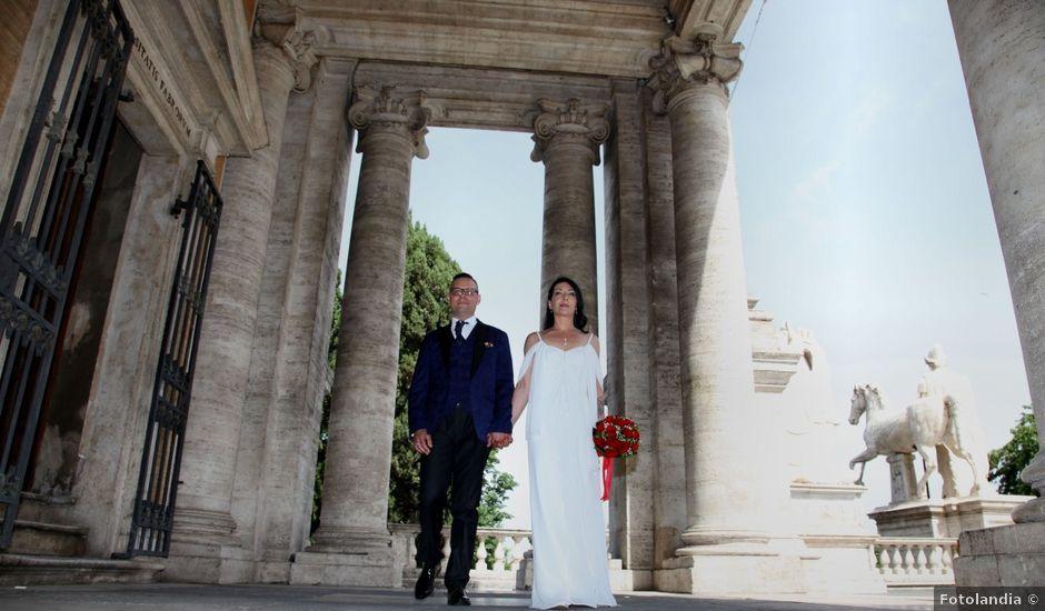 Il matrimonio di Marco e Katia a Roma, Roma