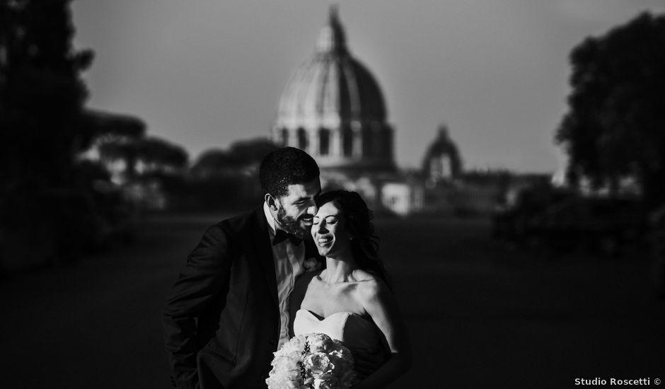 Il matrimonio di Domenico e Giorgia a Roma, Roma