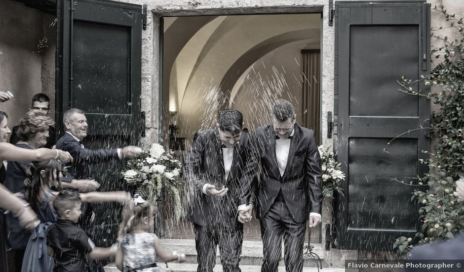 Il matrimonio di Gianluca e Flavio a Fiumicino, Roma