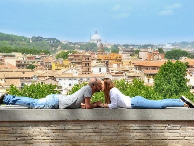 Il matrimonio di Daniele e Maria a Roma, Roma 1