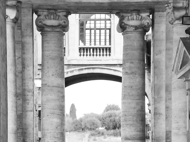 Il matrimonio di Daniele e Maria a Roma, Roma 56