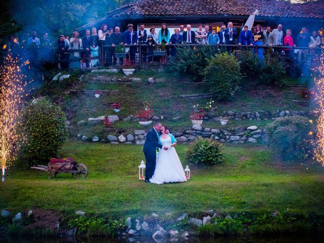 Il matrimonio di Maurizio e Valentina a Momo, Novara 45