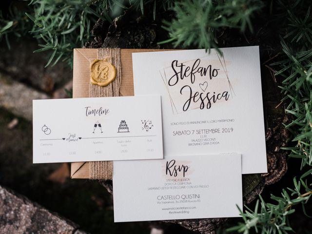 Il matrimonio di Stefano e Jessica a Brignano Gera d'Adda, Bergamo 45