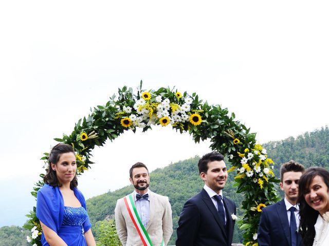 Il matrimonio di Leonardo e Lucia a Poppi, Arezzo 14