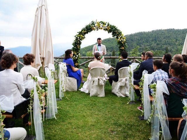 Il matrimonio di Leonardo e Lucia a Poppi, Arezzo 16