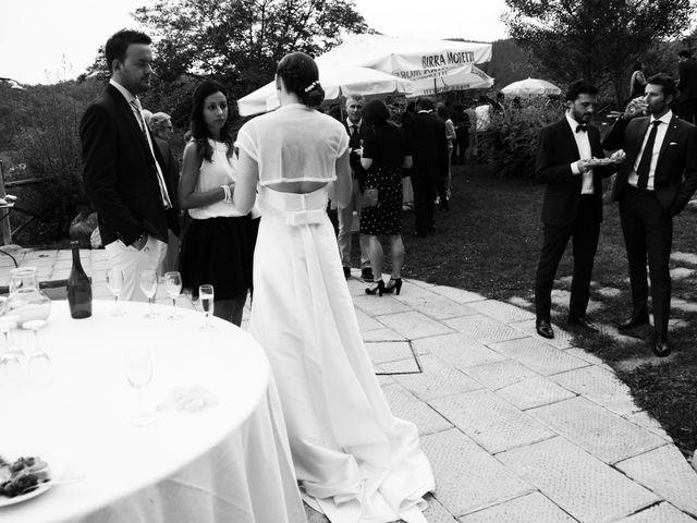 Il matrimonio di Leonardo e Lucia a Poppi, Arezzo 25