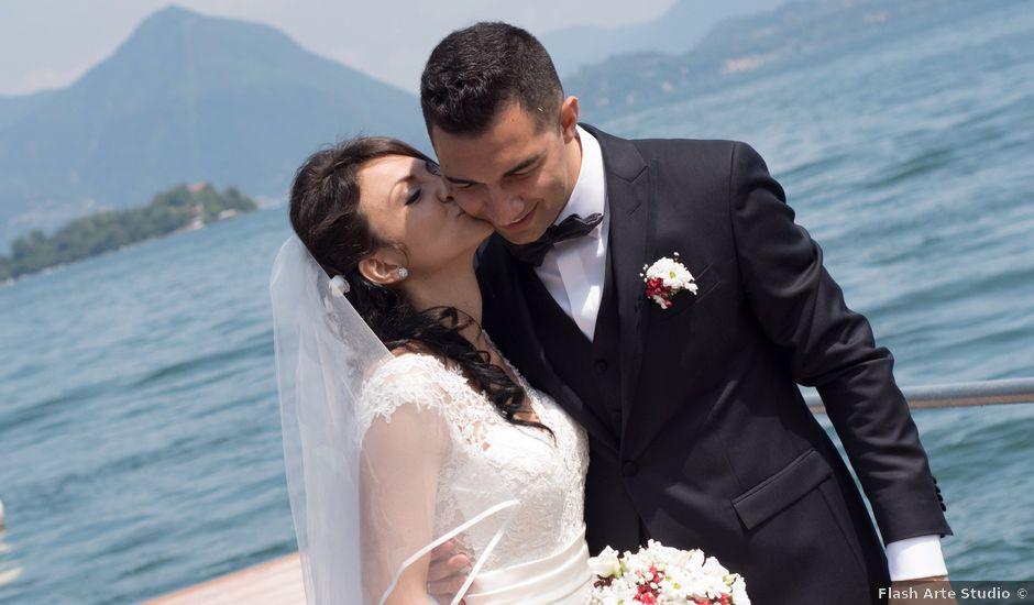 Il matrimonio di Francesco e Veronica a Baveno, Verbania