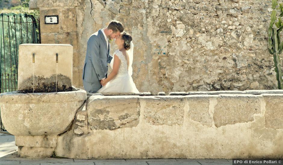 Il matrimonio di Peter e Jnette a Castellammare del Golfo, Trapani