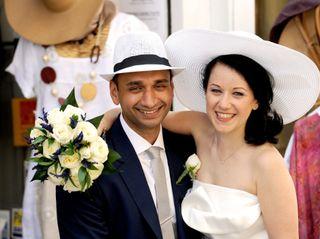 Le nozze di Magda e Gaurang 1