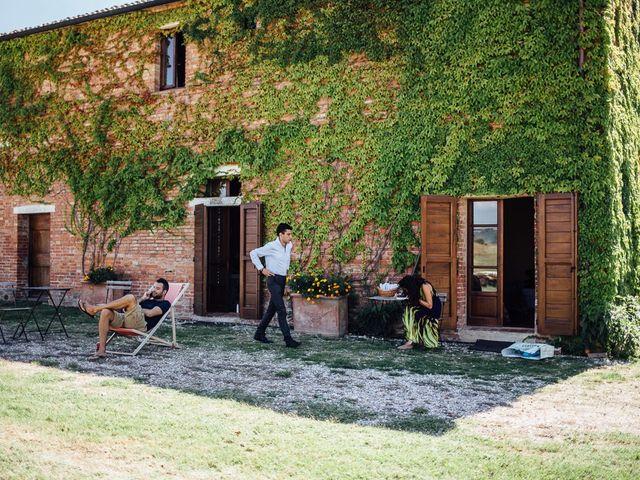 Il matrimonio di Joe e Cecilia a Pienza, Siena 2