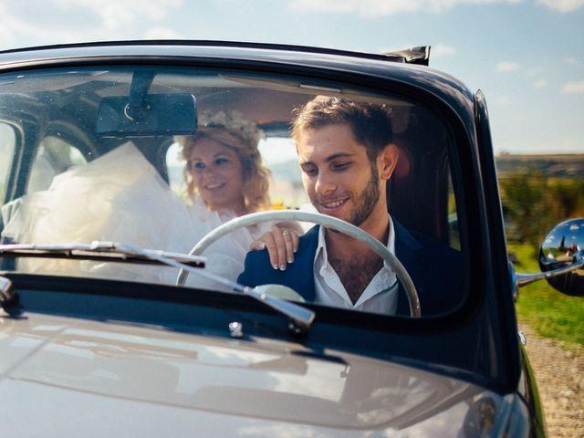 Il matrimonio di Joe e Cecilia a Pienza, Siena 16