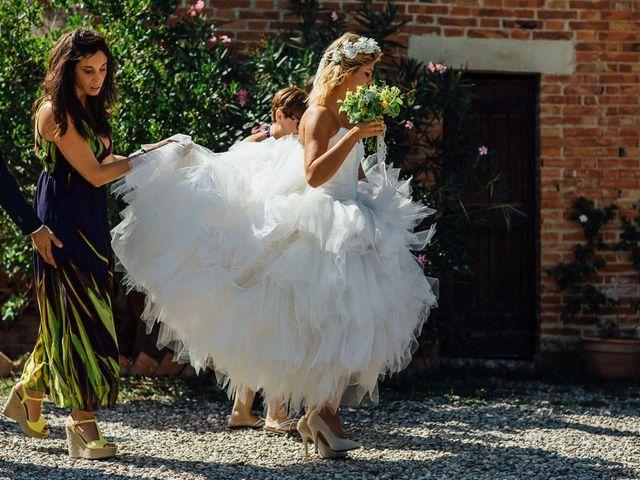 Il matrimonio di Joe e Cecilia a Pienza, Siena 17