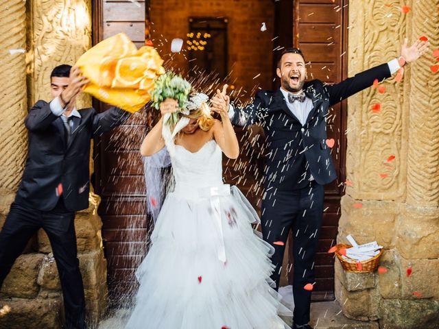 Il matrimonio di Joe e Cecilia a Pienza, Siena 27