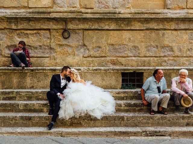 Il matrimonio di Joe e Cecilia a Pienza, Siena 34