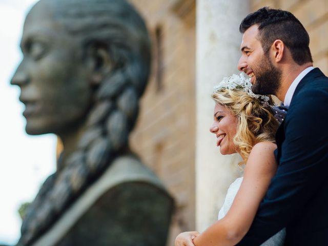 Il matrimonio di Joe e Cecilia a Pienza, Siena 36