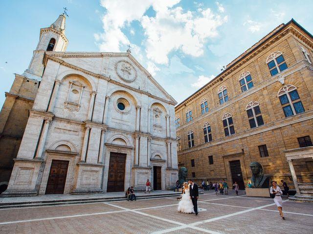 Il matrimonio di Joe e Cecilia a Pienza, Siena 37