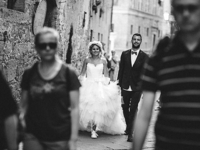 Il matrimonio di Joe e Cecilia a Pienza, Siena 39
