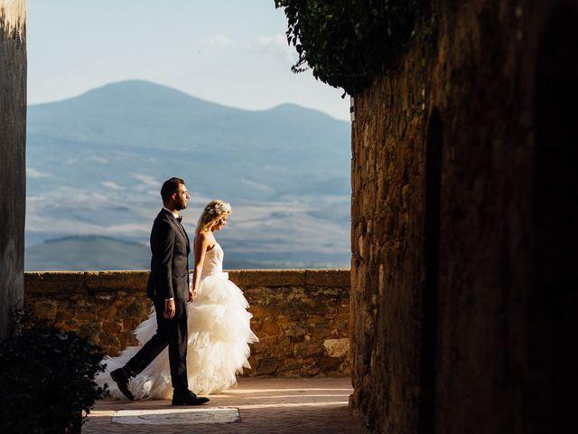 Il matrimonio di Joe e Cecilia a Pienza, Siena 41