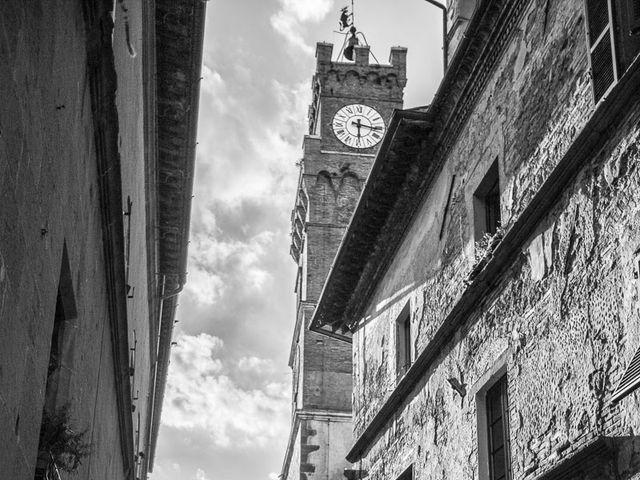 Il matrimonio di Joe e Cecilia a Pienza, Siena 42